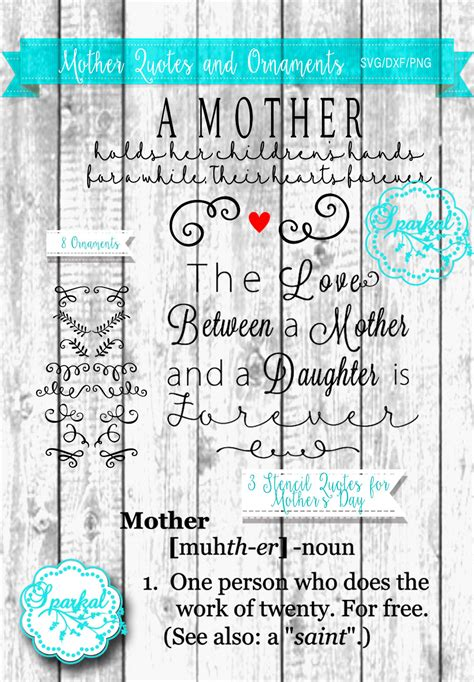 Welcome to my stash of free cricut card designs. Three Mother's Day Quotes SVG Cutting files Eight SVG