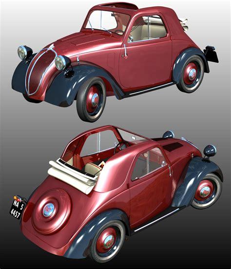 Fiat Topolino by Fiat Topolino 3d Models 3dclassics