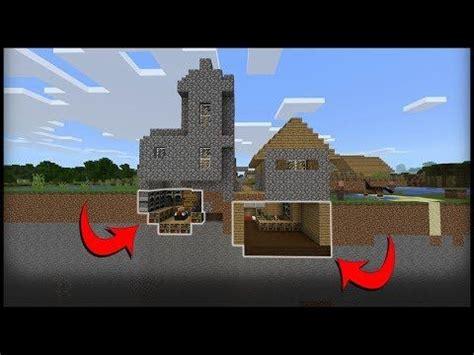 fully hidden opening wall staircase minecraft tutorial youtube minecraft minecraft
