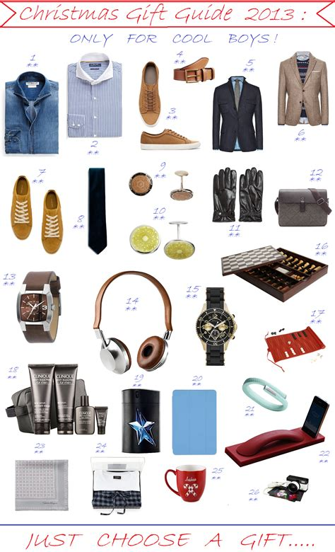 christmas gift guide 2013 only for cool boys fashion