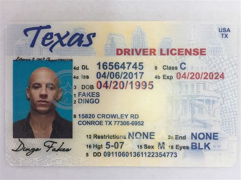 Texas Adult Drivers License  The Best Driver In 2017