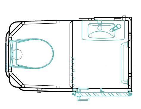 cuisines compactes bloc sanitaire wc et lavabo simplinova wc