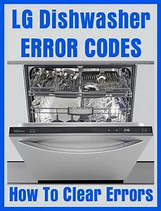 Lg Dishwasher Error Codes