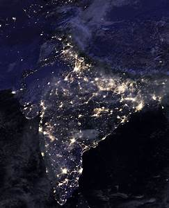 So NASA released the photos of earth in night. India looks ...