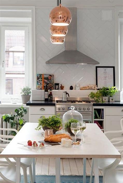 plante cuisine decoration design végétal comment intégrer les plantes dans décor