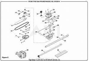 Homelite Ry52014 Gas Pruner  Tp30  Parts Diagram For Figure C