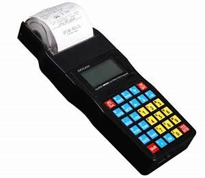handheld billing machine for cable tv operators With portable invoice machine