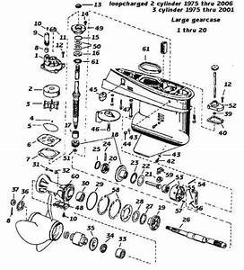 Mercury Diagram Motor Outboard Og251541
