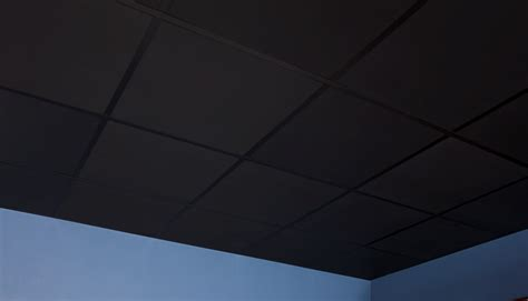 black ceiling tiles 2x4 smooth pro 2 x 2 black box of 12