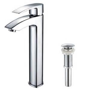 kraus visio single hole 1 handle high arc vessel faucet