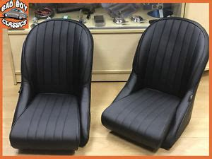 siege baquet retro pair bb vintage car seats low rounded back