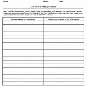 double entry journal template doliquid With double entry journal template for word