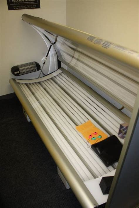 puretan tanning bed room lot including puretan california 30 tanning bed