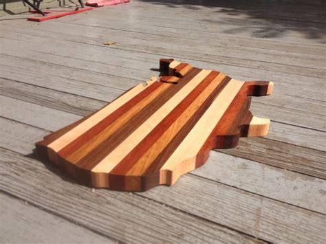 American Shaped Cutting Board