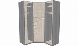 Dressing 150 Cm : dressing d 39 angle solano l 150 x l 150 x h 220 x p 58 cm ~ Teatrodelosmanantiales.com Idées de Décoration