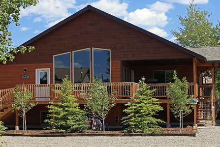 west yellowstone cabins west yellowstone cabin rentals faithful inn west