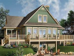 Plan 027h 0104 find unique house plans home plans and for Waterfront home plans with photos