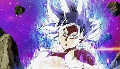 Goku Instinct Ultra Dragon Ball Gifs Super