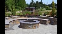 outdoor fire pit design Backyard Fire Pit Designs | Fire Pit Backyard Designs - YouTube