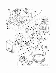 Electrolux Refrigerator Parts Diagram