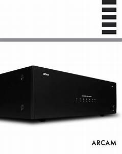 Arcam Stereo Amplifier P1000 User Guide