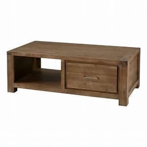 Table Basse Avec Tiroir : table basse ikea bois massif le bois chez vous ~ Teatrodelosmanantiales.com Idées de Décoration