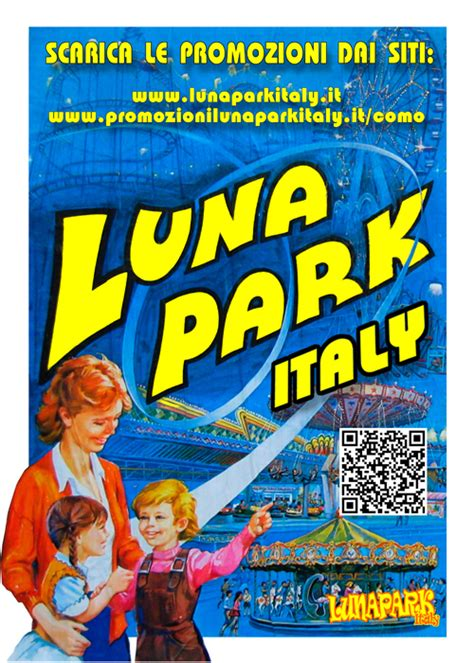 luna park pubblicizzati como  lunaparkitaly