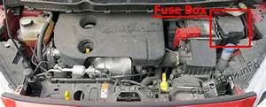 Fuse Box Diagram Ford Transit Courier  2014