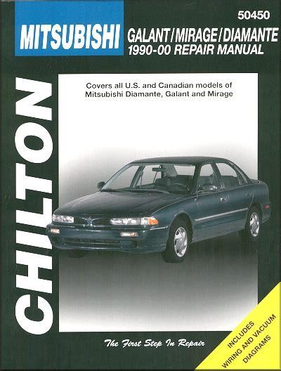 old car manuals online 1990 mitsubishi mirage spare parts catalogs mitsubishi galant mirage diamante repair manual 1990 2000 chilton