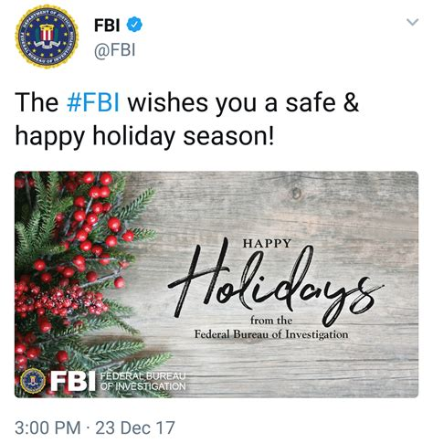 fbi commits  crime   happy holidays pink ink
