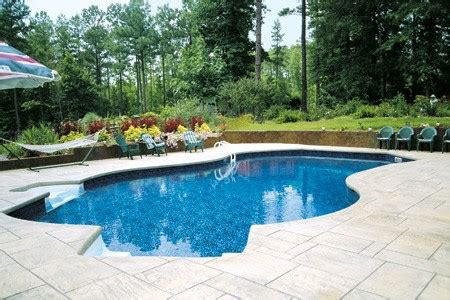 stamped concrete installer springs pools  spas