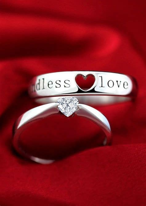 couples promise rings ideas  pinterest