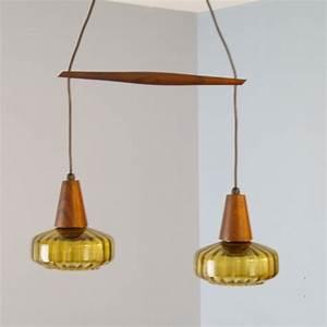 Suspension Luminaire Scandinave : suspension scandinave vintage palissandre la maison retro ~ Teatrodelosmanantiales.com Idées de Décoration