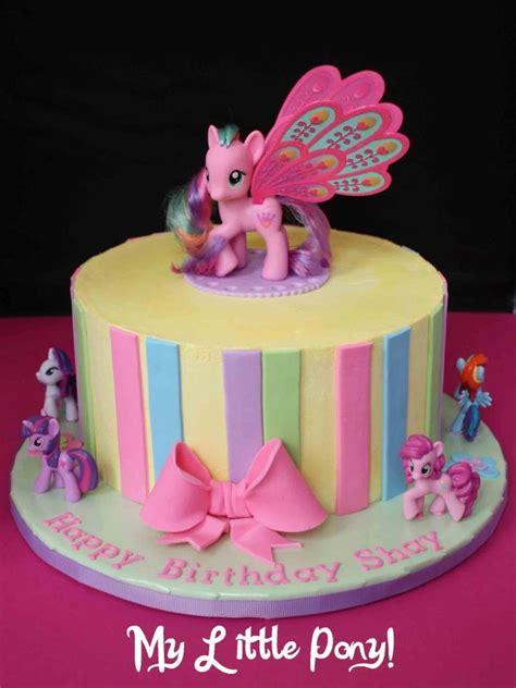 greedy baker   pony birthday cake