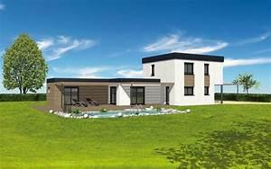 photo de maison design avec piscine toit plat With good photo maison toit plat 6 maison de star contemporaine toit plat