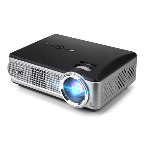 iRULU P4 HD Video Projector LED Home Projector 1080P