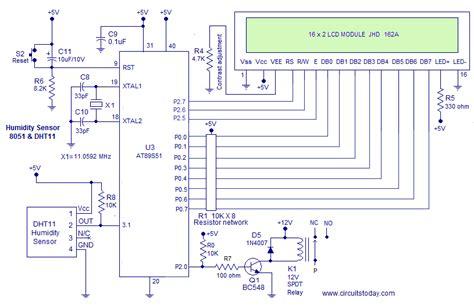 humidity sensor   micro controller measure humidity