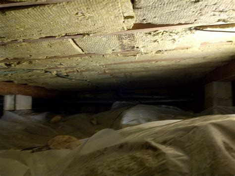 Spray Foam Insulation Crawl Space Dirt Floor by Lakeshore Cottage 187 Insulation