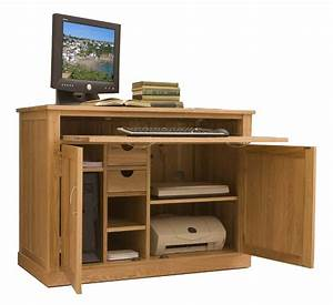MOBEL Oak Hidden Home Office