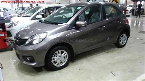 honda brio facelift likely to be launched in india on october 4