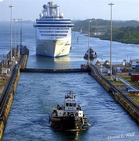 Small Boat Panama Canal Cruises by Panama Canal Photo