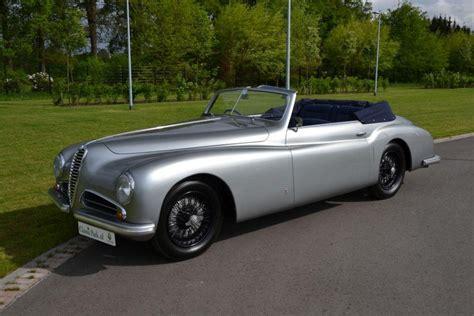 vintage alfa romeo 6c classic park cars alfa romeo 6c 2500 sport pinin farina