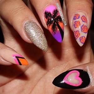 Pointy pink nails joy studio design gallery best