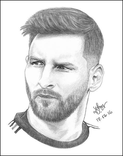 Leo Messi Sketch | Messi drawing, Portrait drawing, Lionel ...