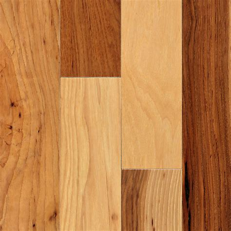 """12"""" X 3"""" Natural Hickory Engineered Bellawood"""