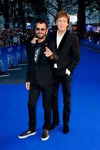 Paul McCartney and Ringo Starr reunite on the red carpet ...