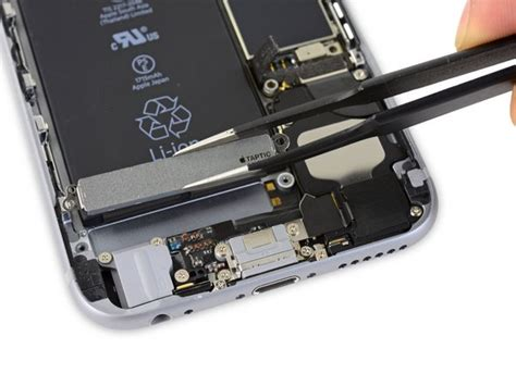 iphone  taptic engine replacement ifixit