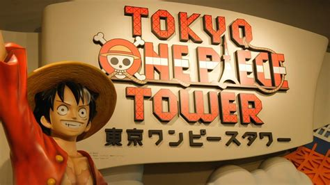Tokyo One Piece Tower Fuji Tv Official Youtube