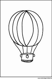 window color bild einem heissluftballon ausmalbilder