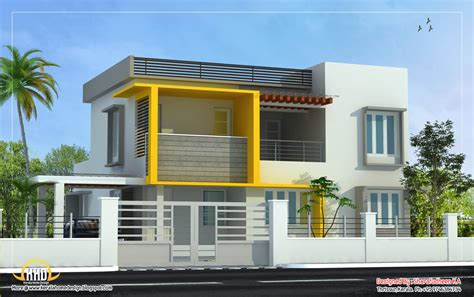 house plans contemporary modern home design 2643 sq ft kerala home design and floor plans